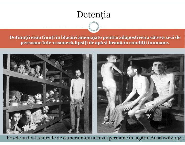 Modul de detenție al prizonierilor