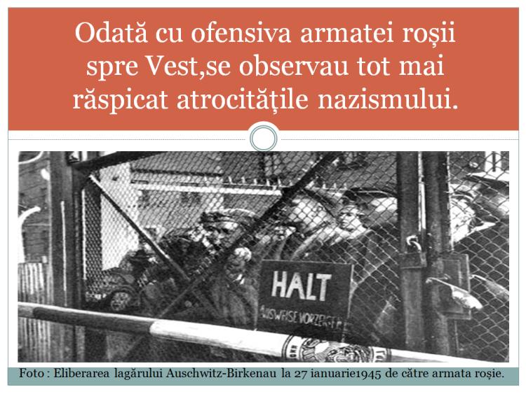 Eliberarea lagărelor de către trupele Aliate