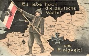 Foi volante cu mesaje de încurajare a armatelor germane pe frontul de Vest,1917