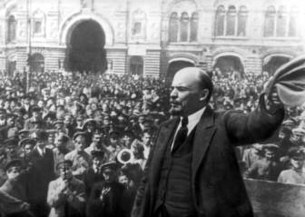 V.I.Lenin,Petrograd,1917