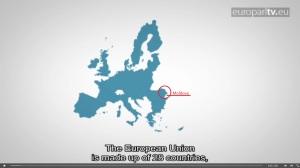 Moldova,arătată într-un spot informațional al Parlamentului European,ca parte a Uniunii Europene