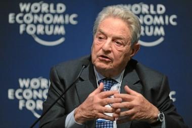 George Soros @ World Economic Forum / credits: http://www.hangthebankers.com/